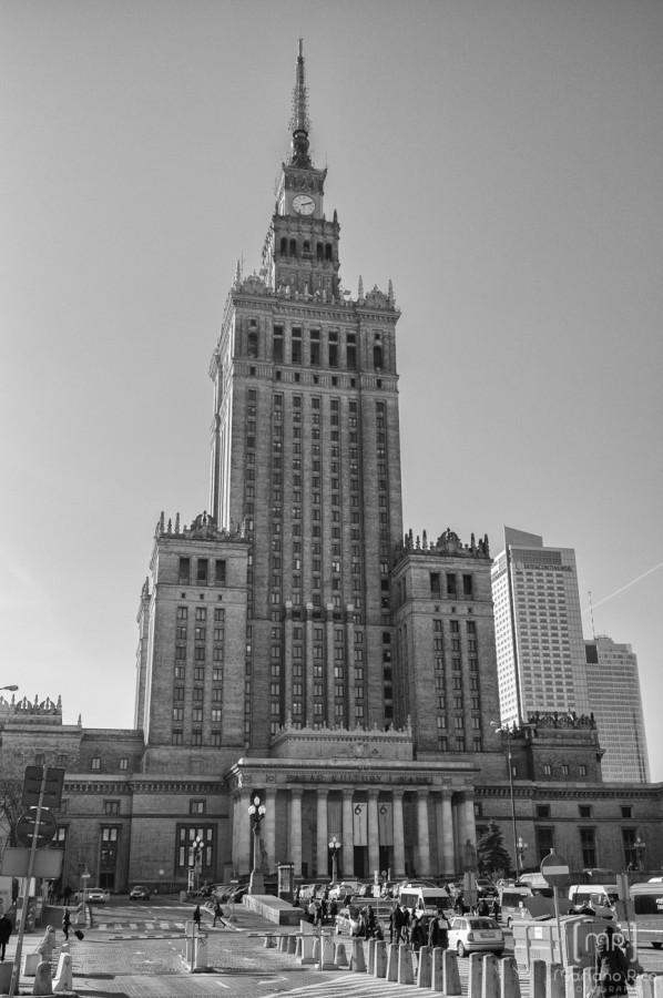 Palacio de cultura y ciencia Varsovia