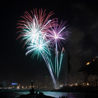 Fuegos artificiales Alicante